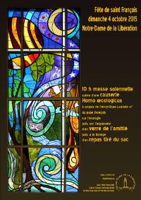 affiche fête de saint François